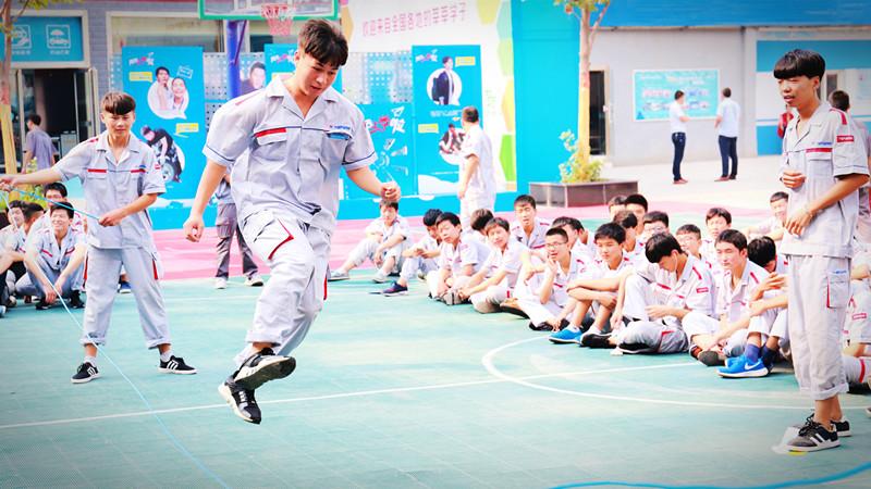 宿舍文化节之跳绳大赛