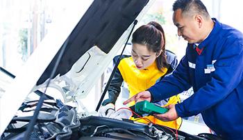 汽车检测维修专业