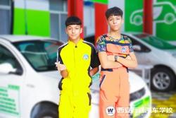 万通新秀:学汽修要趁早的新疆双胞胎兄弟