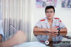 【新生访谈】稳重少年王玉玺  在人生十字路口的选择